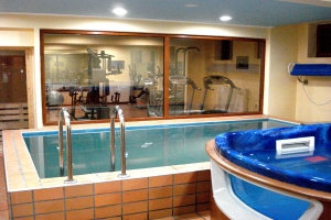 Prespa Spa Wellness Center mit beheiztem Pool